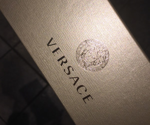 gold, Versace, and x image