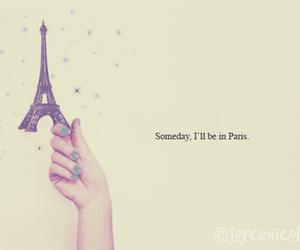 Dream and paris image