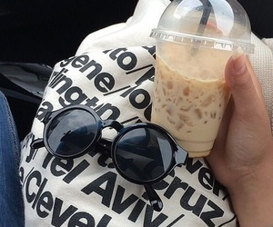american apparel, coffee, and ice image