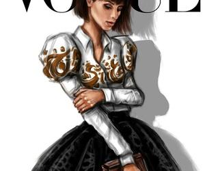 fashion, inspiration, and makeup image