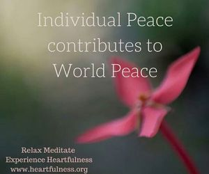 worldpeace and heartfulness image