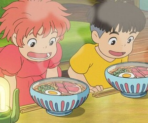 Ponyo, anime, and studio ghibli image