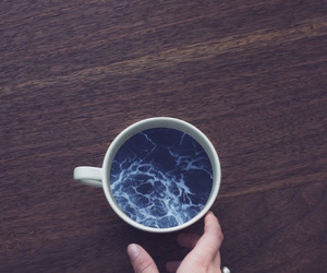 cup, sea, and ocean image