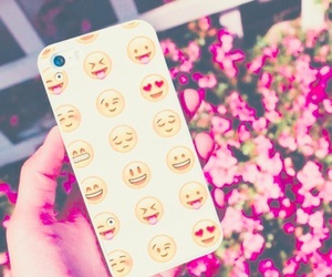 iphone, emoji, and case image