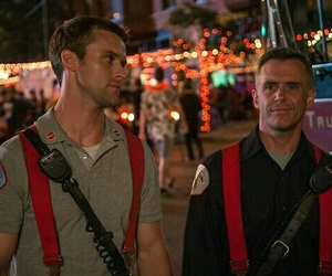 chicago fire, casey, and herrmann image