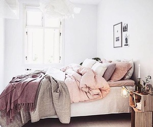 beautiful, bed, and decor image