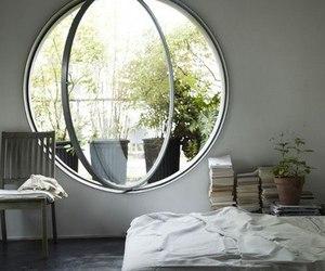 bedroom, window, and home image