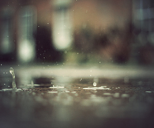 photography, water, and rain image