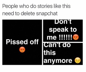 funny, snap, and i do this image