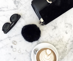 bag, black, and coffee image