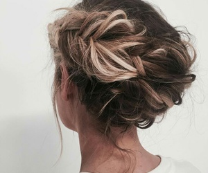 girl, hairstyle, and luxury image