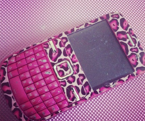 girly, phone, and pink image