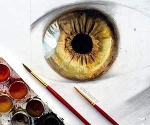 art, amazing, and eye image