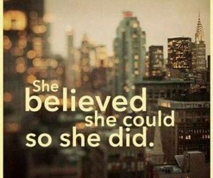 believe, quotes, and girl power image