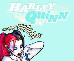 harley quinn, joker, and comics image