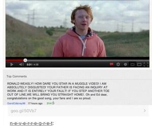 funny, ed sheeran, and harry potter image