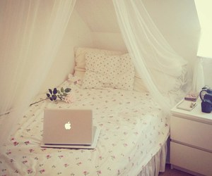 room, bedroom, and pretty image