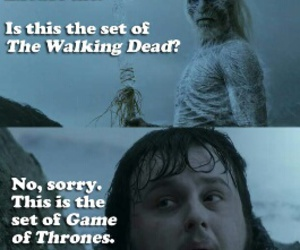 game of thrones, funny, and Sam image