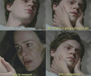 asylum, ahs, and evan peters image