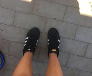 adidas, black, and converse image