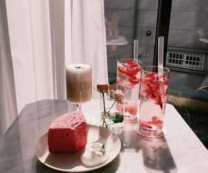 beauty, food, and pink image