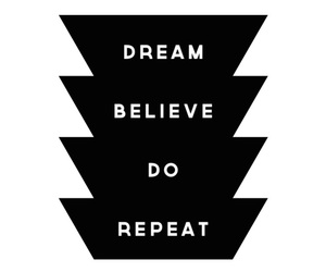 believe, do, and Dream image