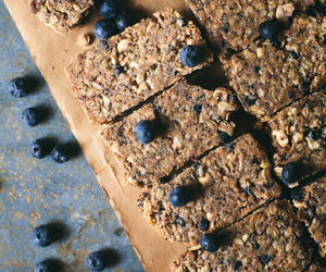 bars, cashew, and blueberry image