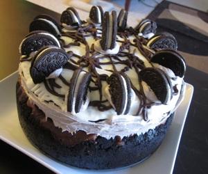 oreo, cake, and chocolate image