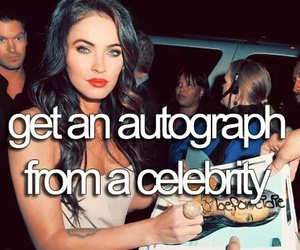 before i die, bucket list, and autograph image