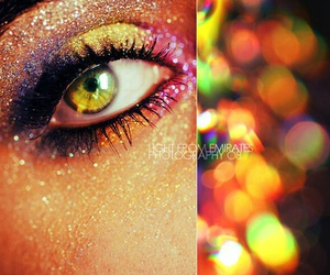 bright, colorful, and glitter image