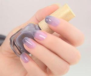 nails, beauty, and nail art image
