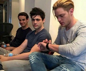 shadowhunters, dominic sherwood, and matthew daddario image