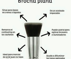 chicas, maquillaje, and brochas image