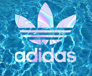 adidas, background, and water image