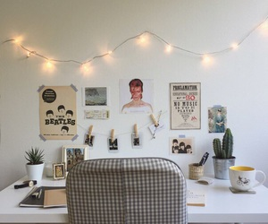 room, tumblr, and desk image