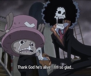 brook, chopper, and one piece image