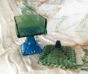 blue and green, wedding box, and teamvintageusa image