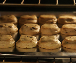 Cookies, baking, and oven image