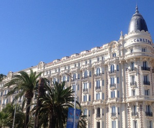 blue, cannes, and france image