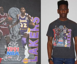 1990s, lakers, and vintage image