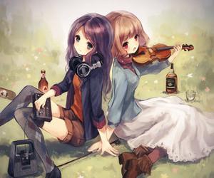 anime, music, and manga image