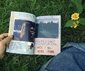 book, pale, and grunge image