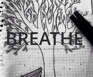 breath, dibujo, and drawing image