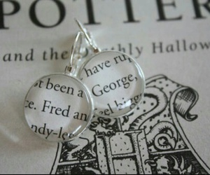 harry potter, book, and fred and george weasley image