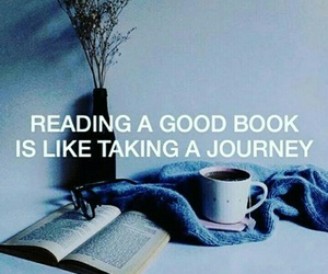 book, journey, and quote image