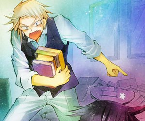 anime, pandora hearts, and eliot nightray image