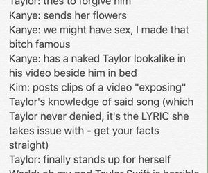 kanye, kim, and Taylor Swift image