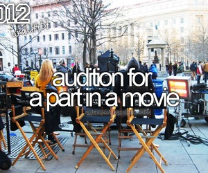 audition, Dream, and film image