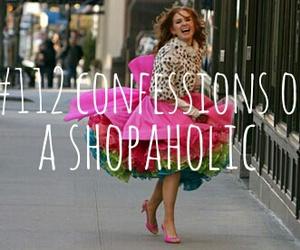 confessions of a shopaholic, dress, and fashion image