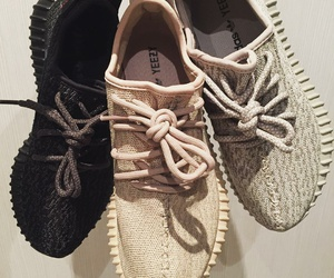 shoes, sneakers, and yeezy image